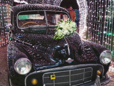 vintage wedding rent a car in kochi