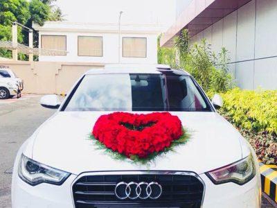 Luxury wedding rent cars in Thrissur,Kochi,Palakkad