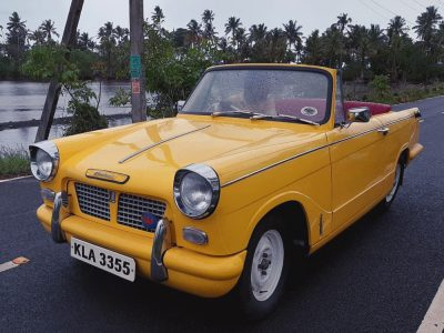 vintage cars for rent in thrissur